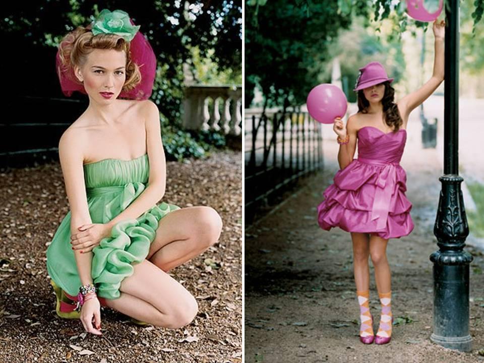 Colorful-bridesmaids-dresses-pronovias-green-purple-post-wedding-dresses.full