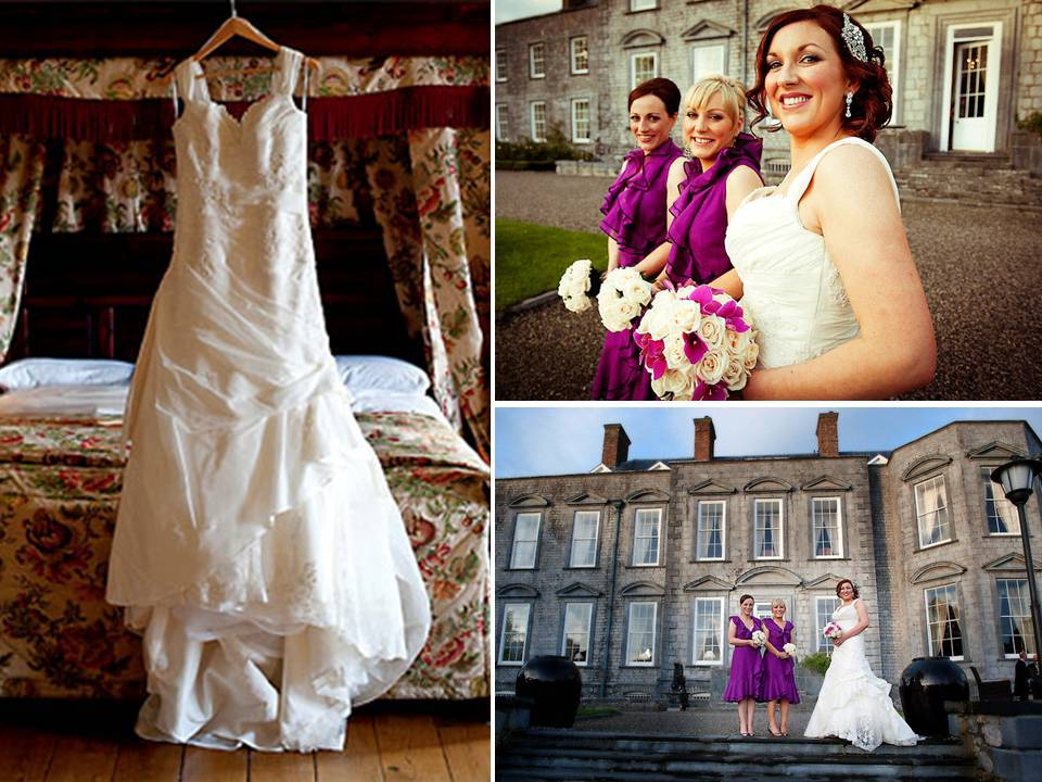 Real-irish-wedding-bridesmaids-ivory-wedding-dress-castle-venue-elegant_0.full