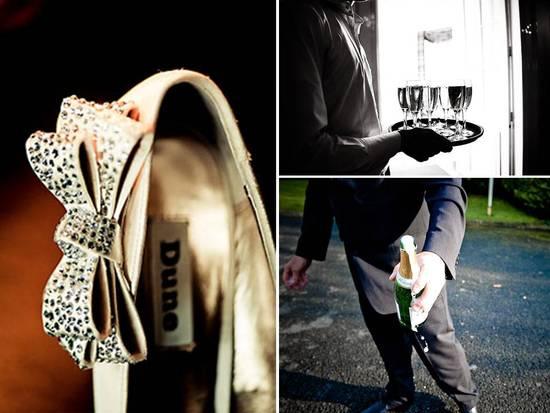 photo of Gorgeous Real Irish Wedding: Castle Venue, Vintage Bridal Style