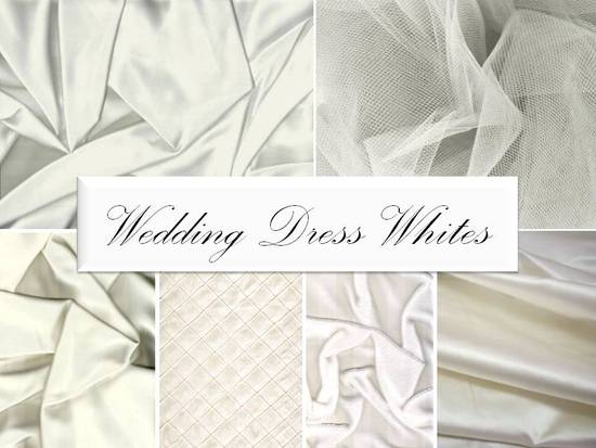 Know which wedding dress whites look best with your skin tone