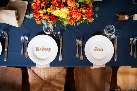 place setting marin headlands wedding