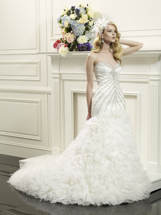 Couture wedding gown from Val Stefani 2