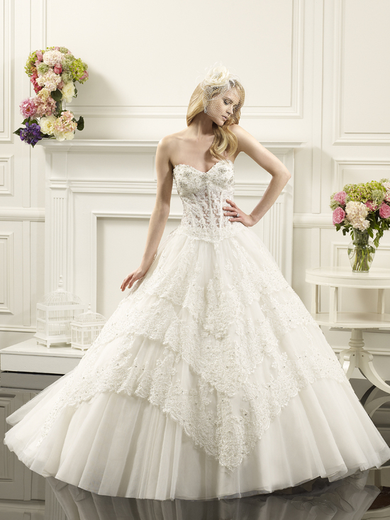 photo of Layered ball gown from Val Stefani