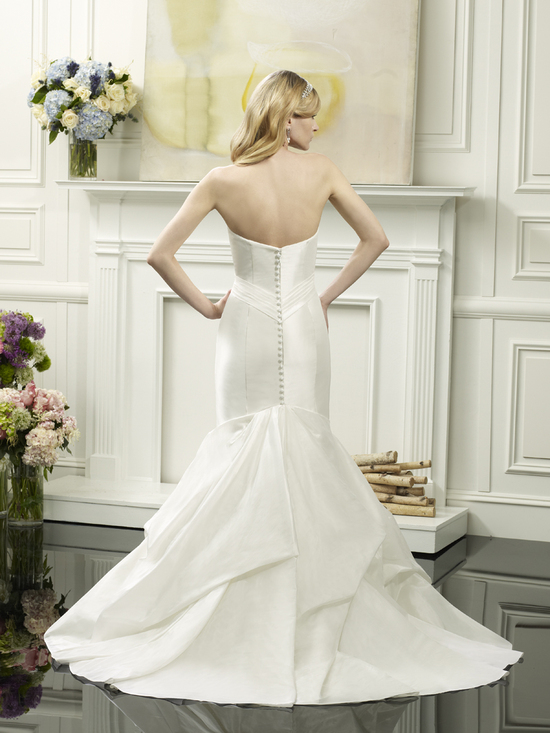 Mermaid wedding gown from Val Stefani