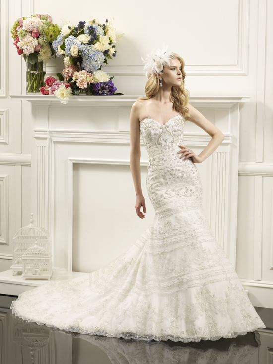 Val Stefani wedding gown