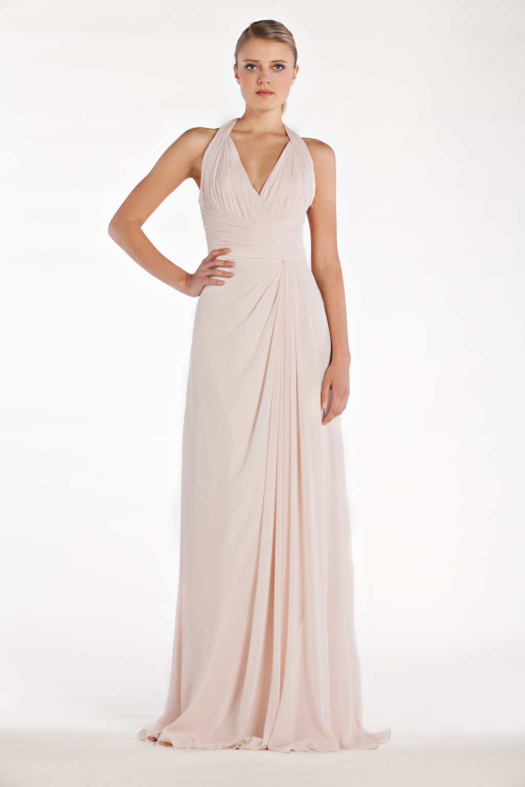 2014 bridesmaids dress from Monique Lhuillier