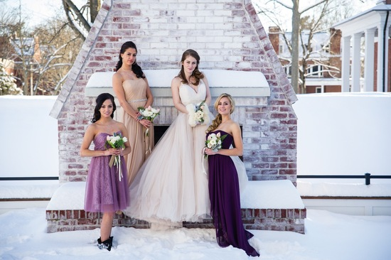 photo of A Charmed Winter Wedding