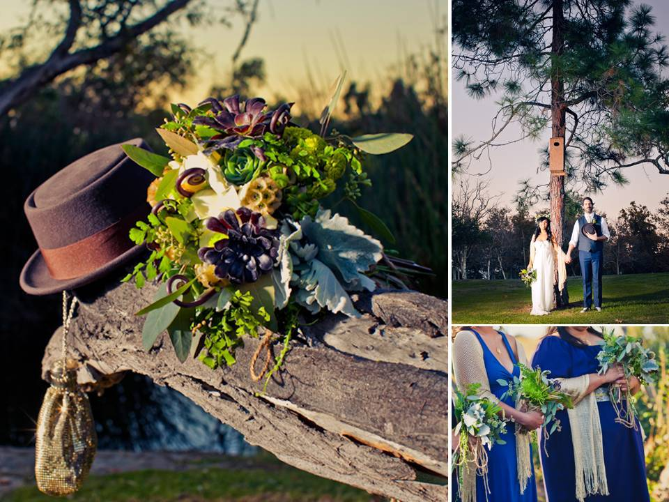 Eco-friendly-bridal-bouquet-succulents-outdoor-wedding-ceremony.full