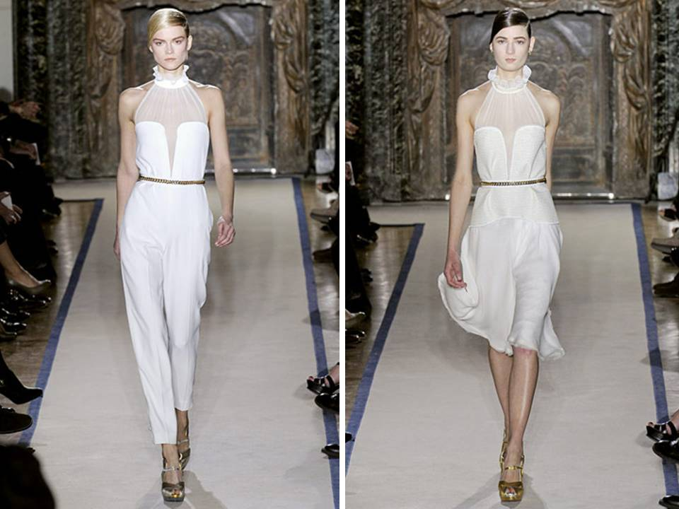 White hot wedding day looks from YSL