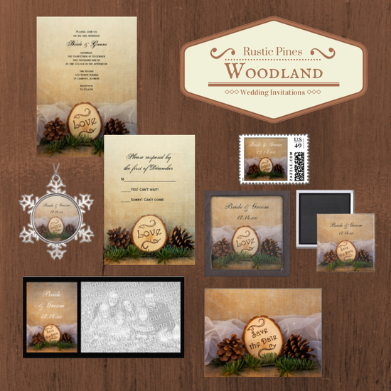 Rustic Pines Woodland Wedding