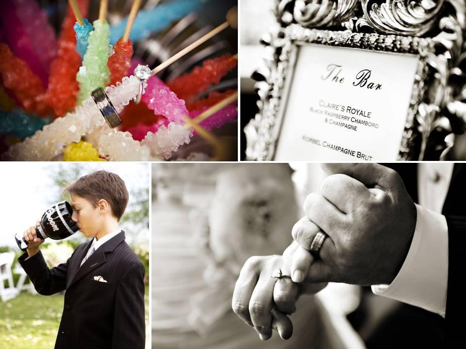 Wedding-reception-bar-menue-bride-groom-engagement-ring.full