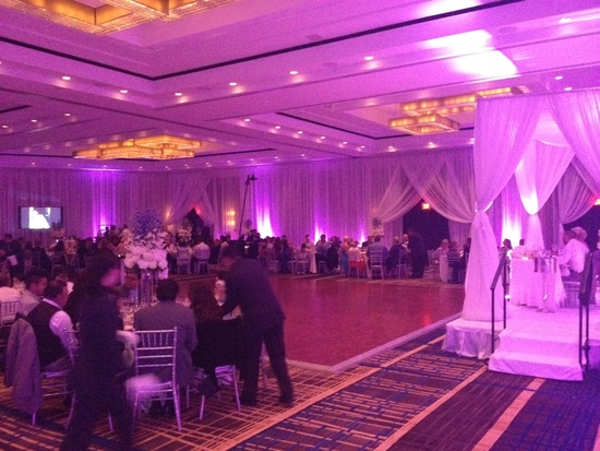 Up-Lighting and Decor, Pipe and Drape Decorations
