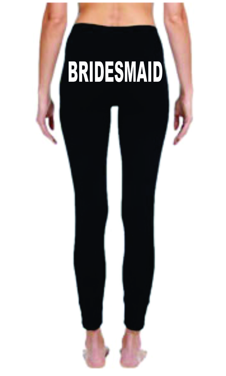 Bridesmaid leggings