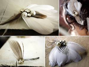 photo of 2011 Wedding Trend- Feathers!