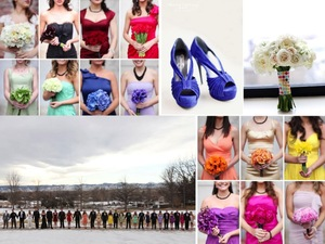 photo of Bridesmaid Dress Trend We Love: Mix and Match Styles!