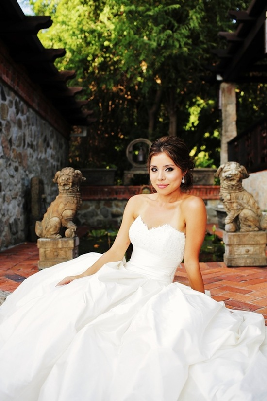 Bride beauty in the Caribbean
