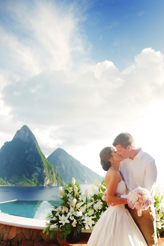 photo of Destination wedding in St Lucia