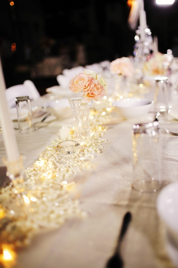 Wedding tablescape in St Lucia