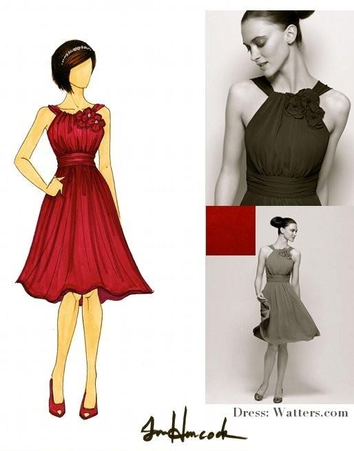 Etsy-weddings-bridesmaids-dresses-red-peep-toe-bridal-heels.full