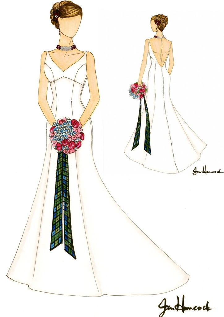 photo of The Illustrated Bride