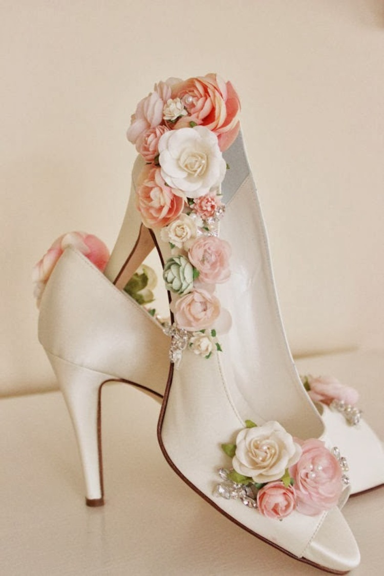 Bridal shoes from Abigail Grace Bridal