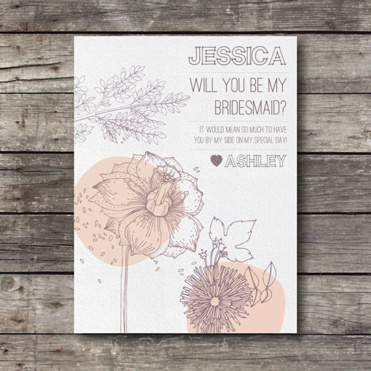 Floral_will_you_be_my_bridesmaid_stationery.full