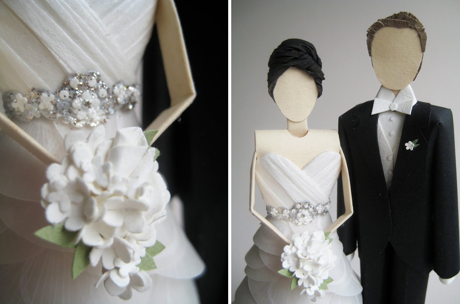 Unique Wedding Cake Toppers Bride And Groom Viewing Gallery