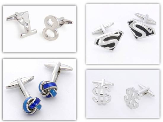 photo of 4 Unique and Stylish Cuff Links for the Groom