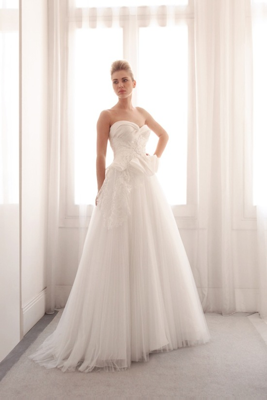Ball gown wedding gown by Gemy Bridal