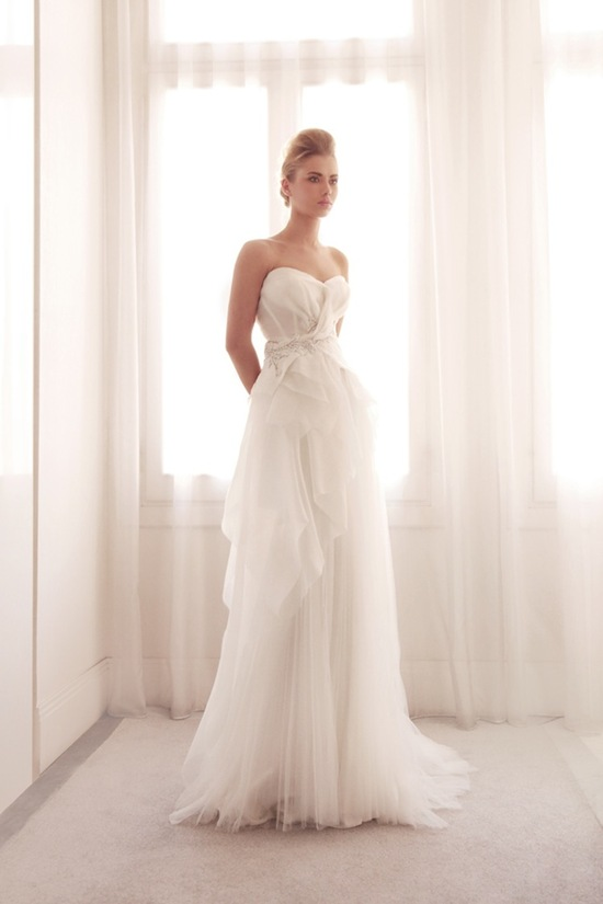 photo of Ethereal wedding gown by Gemy Bridal