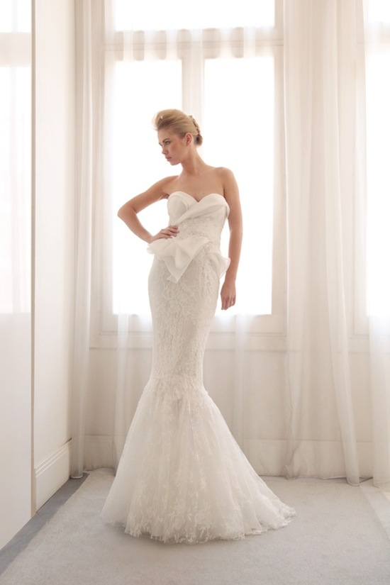photo of Glamorous mermaid wedding gown by Gemy Bridal