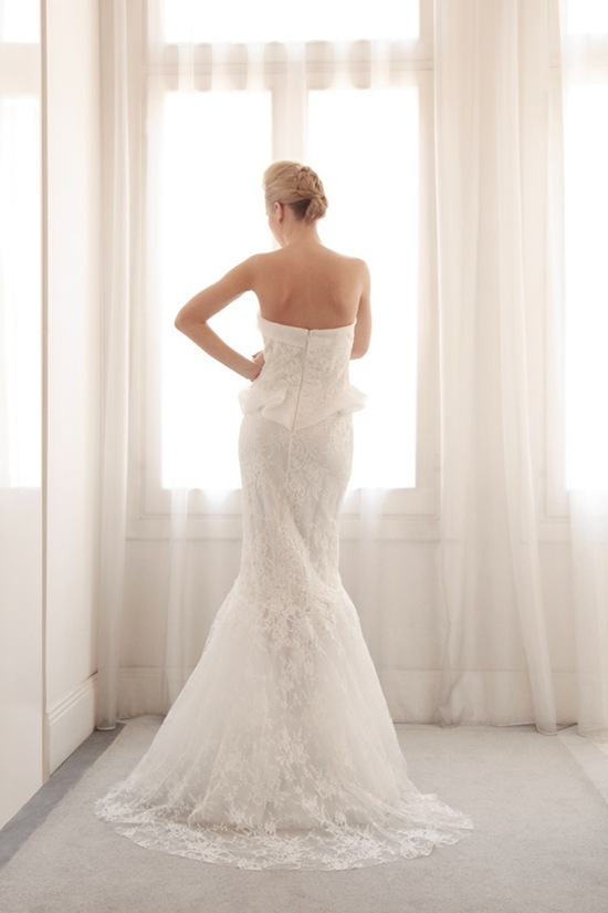 Glamorous mermaid wedding gown by Gemy Bridal