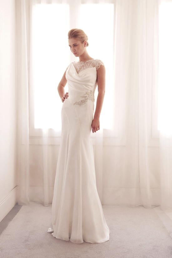 Glamorous wedding gown by Gemy Bridal