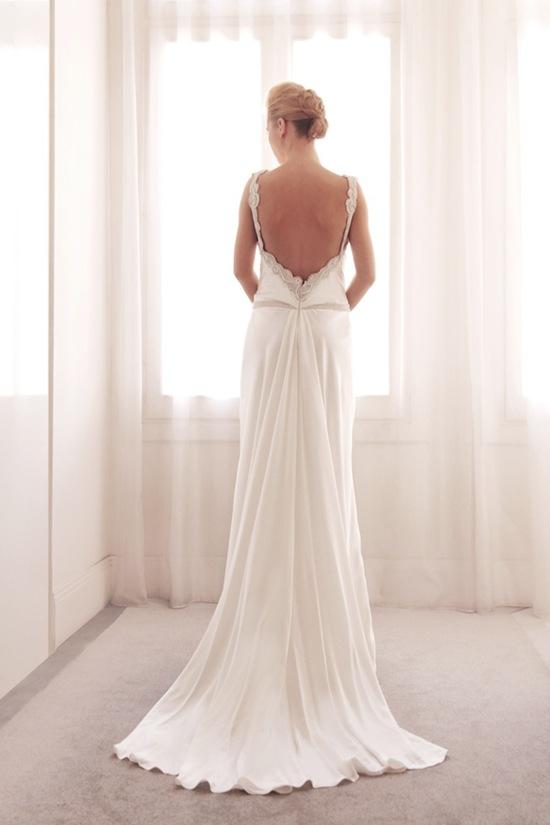 photo of Sheath wedding gown by Gemy Bridal