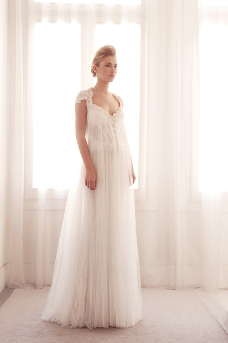Tulle wedding gown by Gemy Bridal