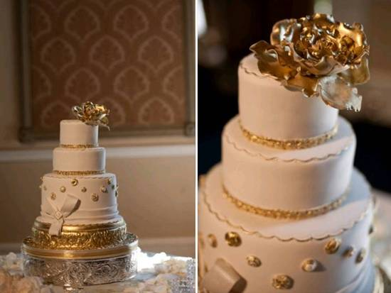 Texture-rich classic wedding cakes
