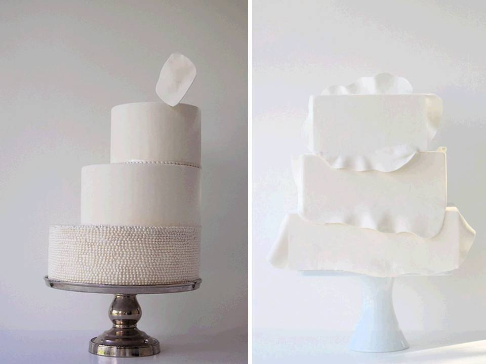 Modern-wedding-cakes-white-classic-fondant-geometric-architectural.full