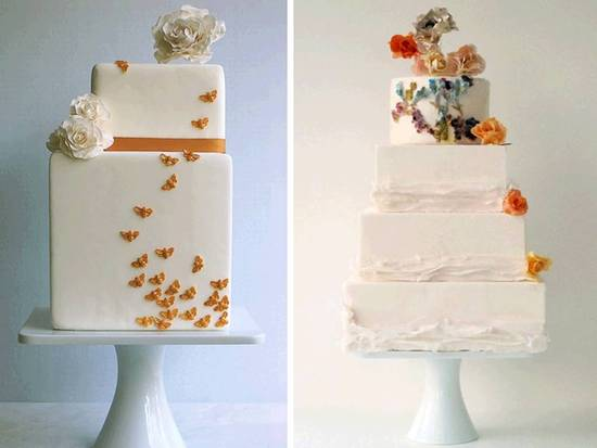 If you're planning a natural, organic wedding, this wedding cake is perfect