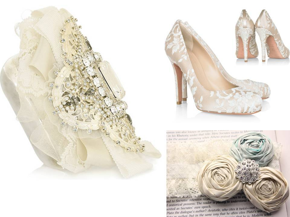 2011-wedding-trends-lace-bridal-accessories-lace-clutch-bridal-sash-wedding-heels.full