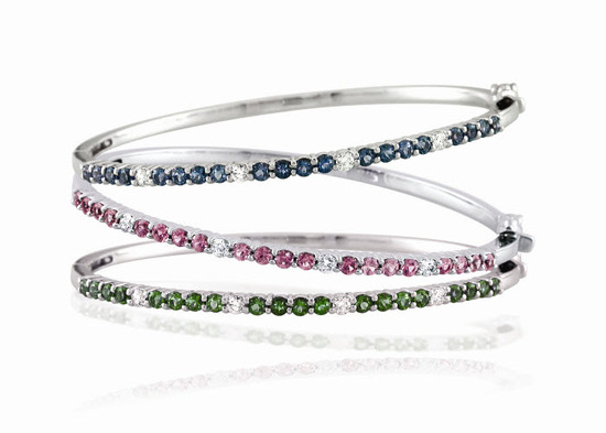 Last chance to win a diamond and amethyst bangle bracelet for your wedding day!