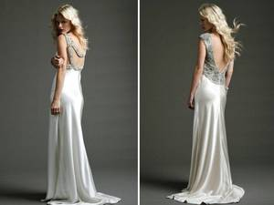photo of Statement Backs on Sultry Wedding Dresses