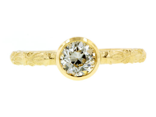 Heirloom-vintage-engagement-ring-gold-diamond-round.full