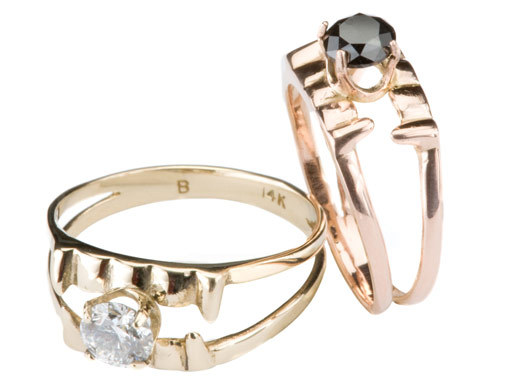Dazzling engagement rings inspired by Twilight and True Blood!