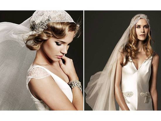 Romantic And Vintage Inspired Couture Bridal Veils