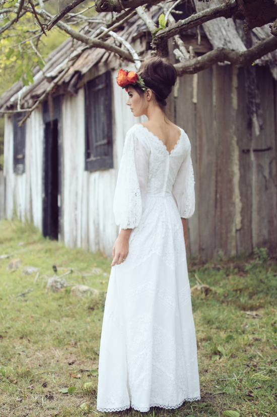 photo of The Free-Spirit Stylings of Maggie May Bridal