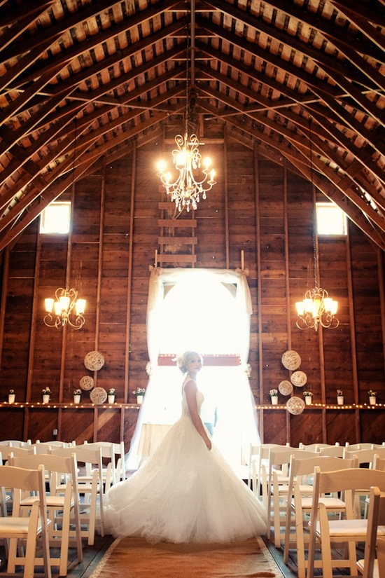 Barn ceremony venue