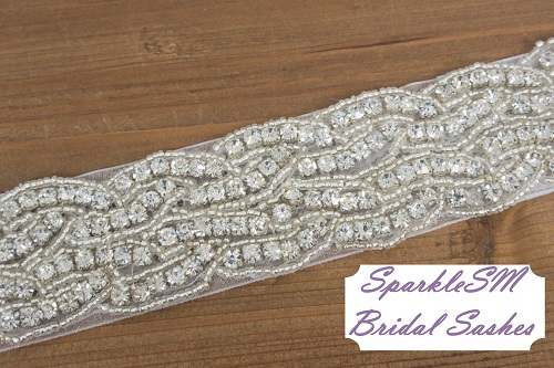 photo of SparkleSM Bridal Sashes