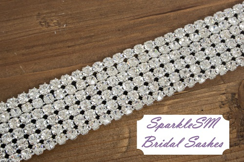 Rhinestone Crystal Bridal Belt Sash, Wedding Sash Belt, Bridal Accessories, Crystal Belt Sash Rhinestone Bridal Belt - Ryan