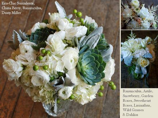 photo of Wedding Flowers, Bridal Bouquets and Centerpieces to Inspire You