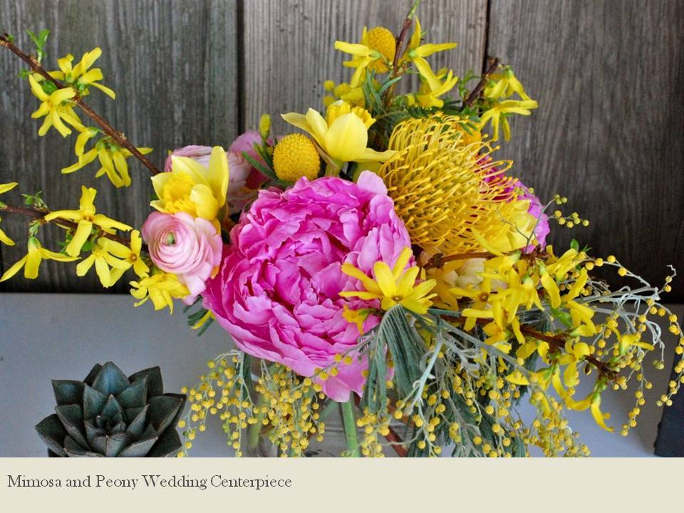 Bright-wedding-centerpiece-peonies-mimosa-wedding-flowers-la-fleur.full